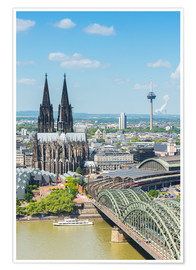 Poster Premium  Cologne Cathedral (Cathedral of St. Peter) - rclassen