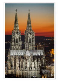 Poster Premium  cathedral of cologne - rclassen