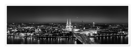 Poster  Cologne skyline panorama - rclassen