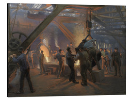 Alluminio Dibond  The iron foundry - Peder Severin Kroyer