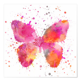 Poster Premium  Artsy Butterfly - Andrea Haase