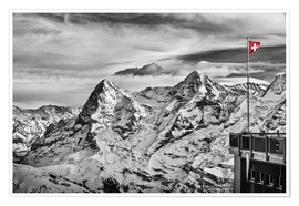Poster Premium  Swiss Flag - Tanja Arnold Photography