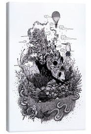 Stampa su tela  Land of the Sleeping Giant (Ink) - Mat Miller