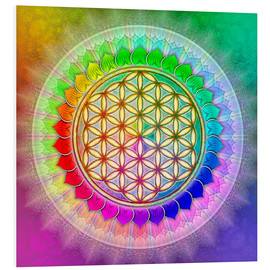 Forex  Flower of Life - Rainbow Lotus Artwork II - Dirk Czarnota