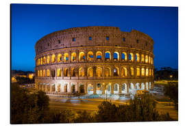 Alluminio Dibond  Colosseum in Rome at night - Jan Christopher Becke