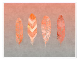 Poster Premium  Feathers - Andrea Haase