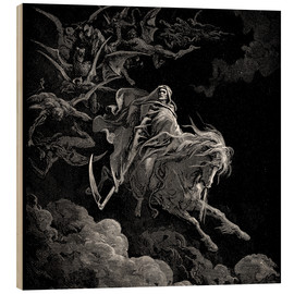 Legno  Death on a Pale Horse - Gustave Doré