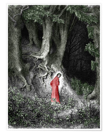 Poster Premium Man In The Forest