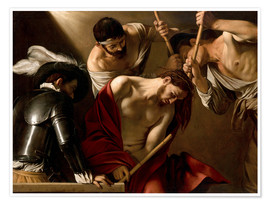 Poster Premium  The Crowning with Thorns - Michelangelo Merisi (Caravaggio)