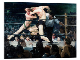Stampa su schiuma dura  Stag at Sharkey's - George Wesley Bellows