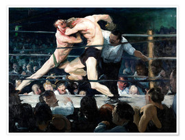 Poster Premium  Stag at Sharkey's - George Wesley Bellows