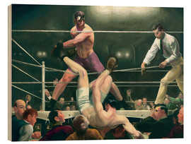 Stampa su legno  Dempsey and Firpo - George Wesley Bellows