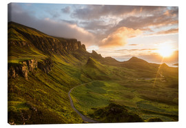 Stampa su tela  The Quiraing, Isle of Skye, Scotland - Markus Ulrich