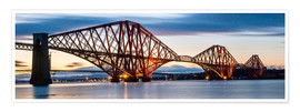 Poster Premium  Forth Bridge, Edinburgh, Scotland - Markus Ulrich