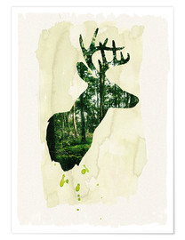 Poster Premium The stag