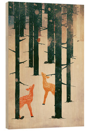 Legno  Winter Deer - Sybille Sterk