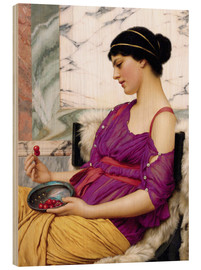 Stampa su legno  Ismenia - John William Godward