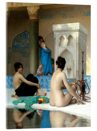Vetro acrilico  After the bath - Jean Leon Gerome