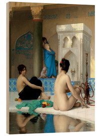 Stampa su legno  After the bath - Jean Leon Gerome