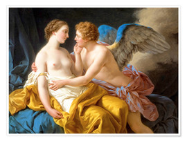Poster Premium Amor and Psyche