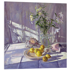 Forex  Still Life Flowers and Lemons - Timothy Easton