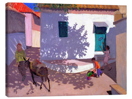 Stampa su tela  Green Door and Shadows, Lesbos, 1996 - Andrew Macara