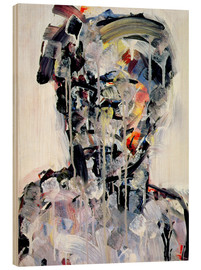 Legno  Portrait of David Bowie, 1994 - Stephen Finer