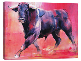 Tela  Trotting bull - Mark Adlington