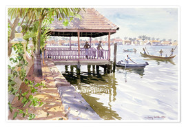 Poster  The Jetty, Cochin - Lucy Willis