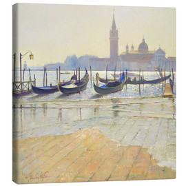 Stampa su tela  Venice at Dawn - Timothy Easton