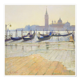 Poster  Venice at Dawn - Timothy Easton