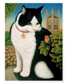 Poster Premium  Humphrey, the cat - Frances Broomfield