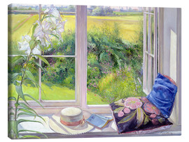 Stampa su tela  Reading window seat - Timothy Easton