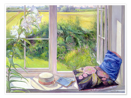 Poster Premium  Reading window seat - Timothy Easton
