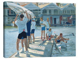 Stampa su tela  Preparation for rowing - Timothy Easton