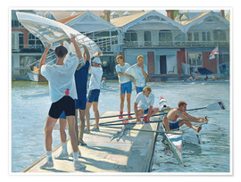Poster Premium  Preparation for rowing - Timothy Easton