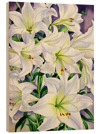 Legno  White Lilies, 2008 - Christopher Ryland
