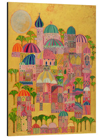 Alluminio Dibond  The Golden City - Laila Shawa
