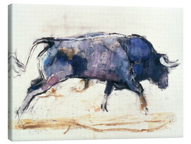 Tela  Galloping bull - Mark Adlington
