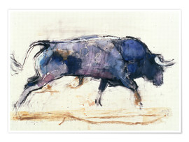 Poster Premium  Galloping bull - Mark Adlington