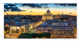 Fine Art Images - Roma St. Peters dome
