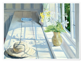 Poster Premium  Still life in front of the window - Timothy Easton