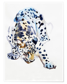 Poster  Arabian Leopard - Mark Adlington