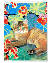 Poster  Sootsy and Dufy Fabric - Anne Robinson