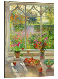 Stampa su alluminio  Overlooking the garden - Timothy Easton