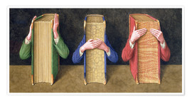 Poster Premium  Three Wise Books, 2005 - Jonathan Wolstenholme