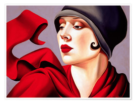 Poster  Zefiro d'autunno - Catherine Abel