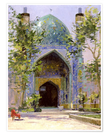 Poster Premium  Chanbagh Madrasses, Isfahan - Bob Brown