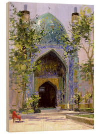 Stampa su legno  Chanbagh Madrasses, Isfahan - Bob Brown