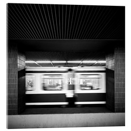 Vetro acrilico  Rush hour Munich - Richard Grando